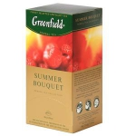 GREENFIELD Summer Bouquet zāļu tēja 25x2g