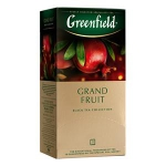 GREENFIELD Grand Fruit melnā tēja 25x1.5g
